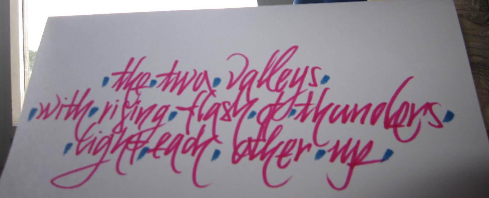 calligrafia - bella scrittura