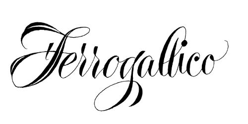 associazione calligrafica ferrogallico