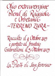 Calligrafia corsiva. Italico