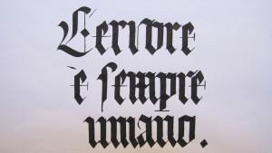 Calligrafia gotica. Texture