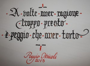Scrittura gotica. Texture