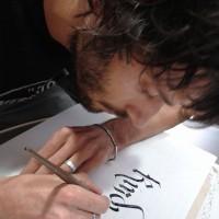 Lorenzo Paciaroni Calligrafia