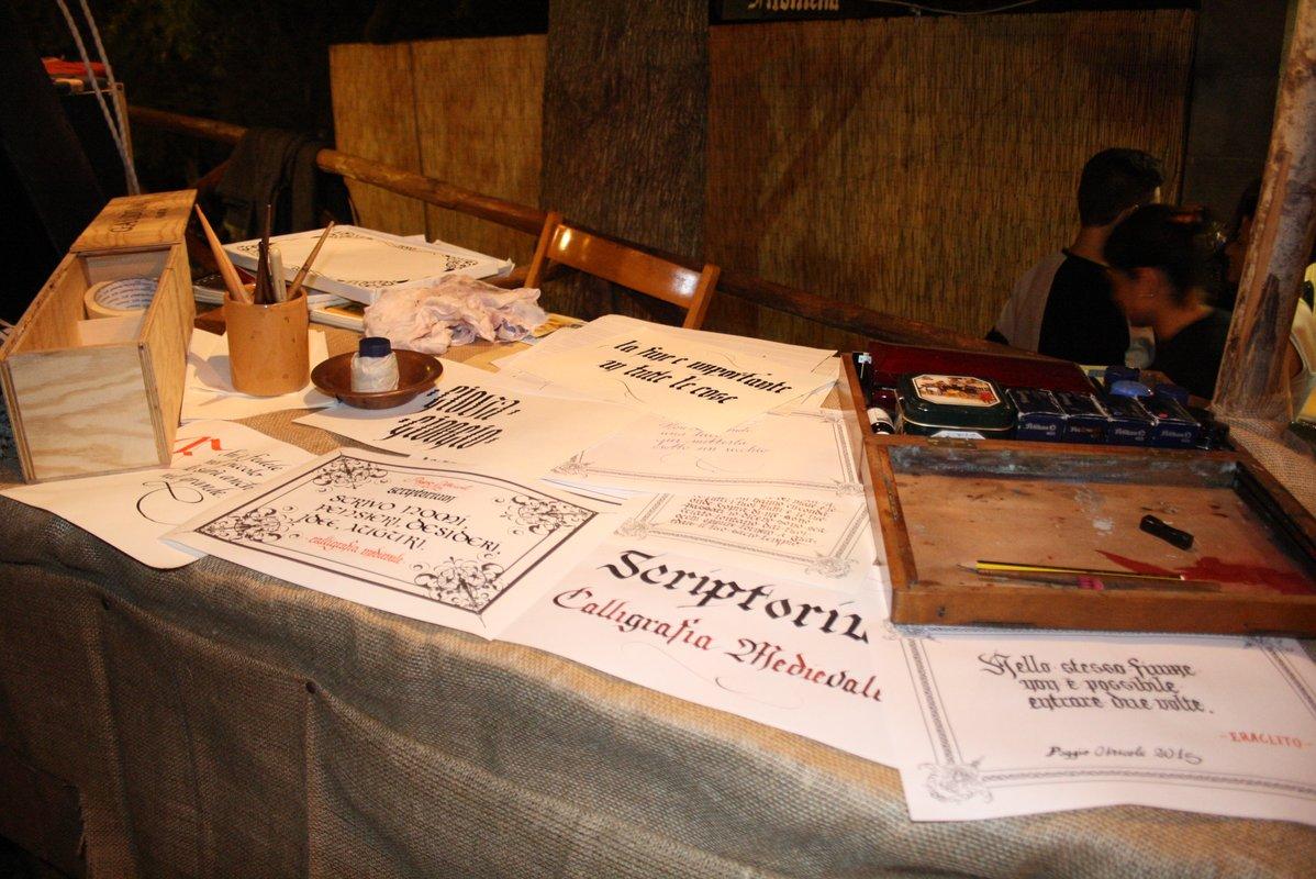 Scriptorium Calligrafia Medievale