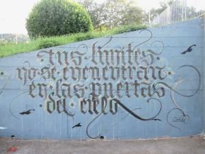 Calligraffiti, writing e calligrafia