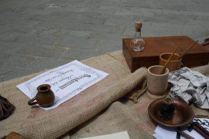Scriptorium scrittura medievale