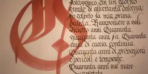 Scrittura gotica bastarda