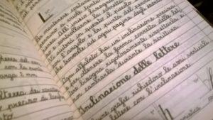 Quaderno Calligrafia Medievale