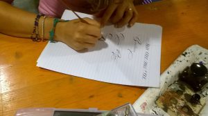 Calligrafia Ferrogallico WeekEnDoIt