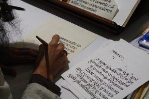 Festival del Medioevo Gubbio, Scriptorium