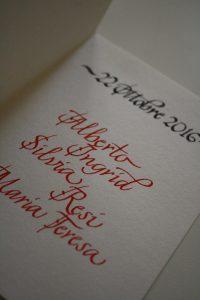 biglietto regalo matrimonio