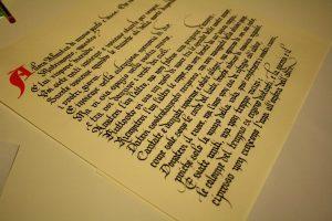 pergamena regalo matrimonio
