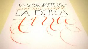 lettering calligrafia