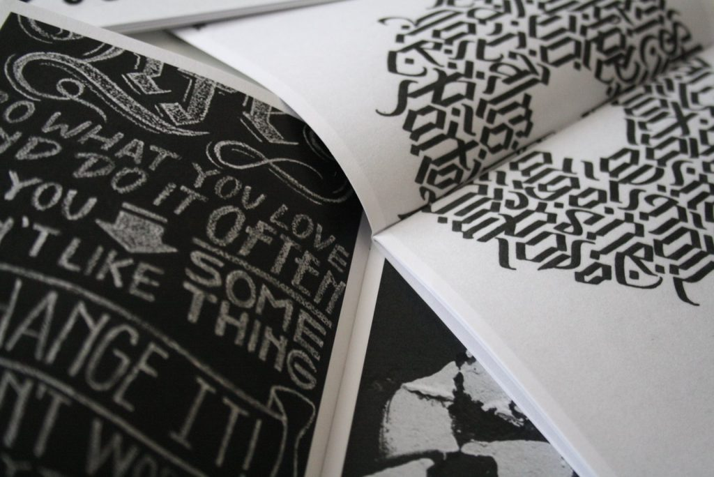 attempts rivista di calligrafia