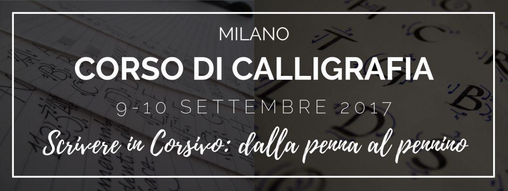 corso di calligrafia a milano