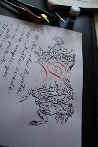 Spencerian, calligrafia per matrimonio