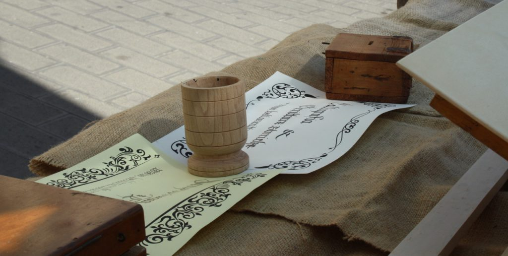 calligrafia rievocazioni tarquinia
