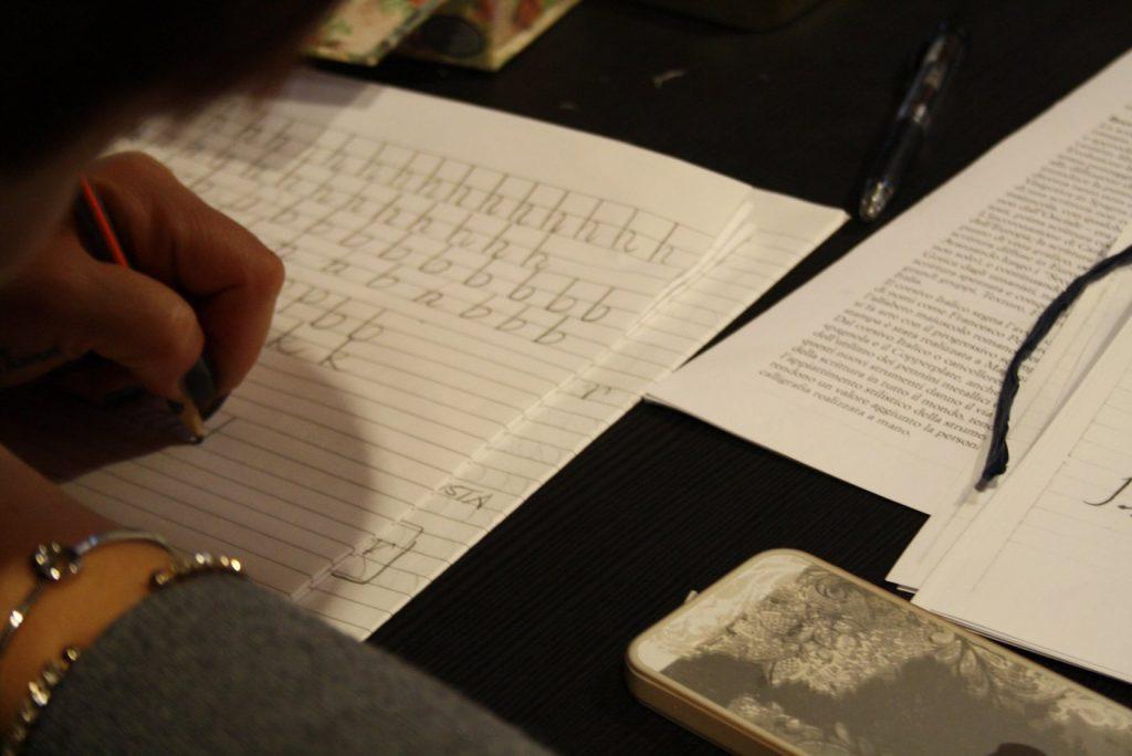 calligrafia a pioraco