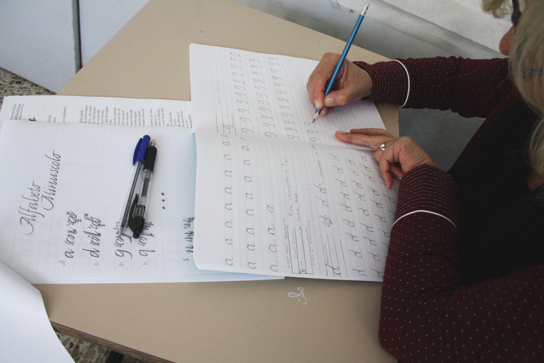 corso calligrafia santa vittoria fermo