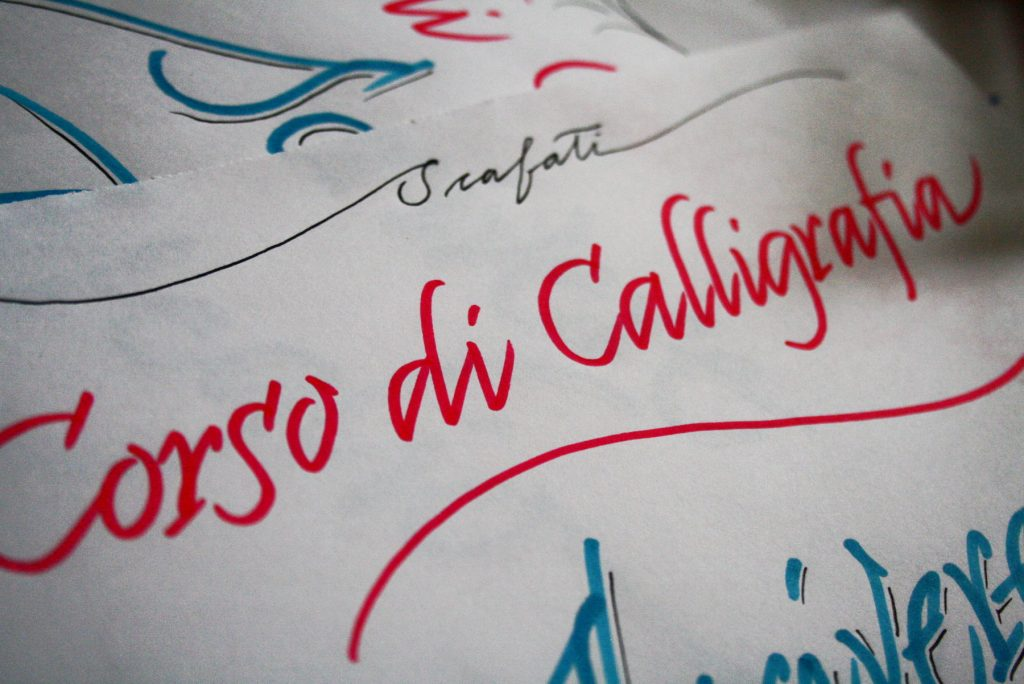 Corso calligrafia Scafati