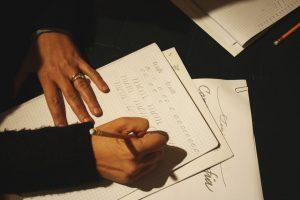 calligrafia senigallia