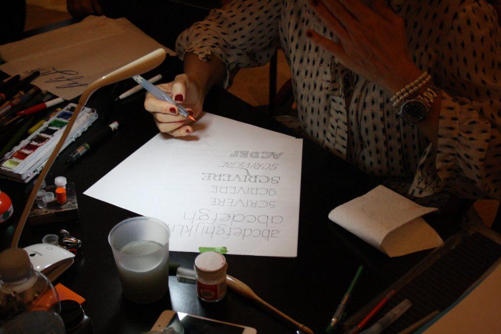 calligrafia barbara calzolari
