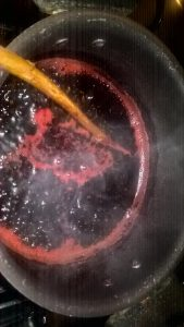 Inchiostro rosso cocciniglia