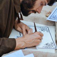 scrittura medievale