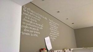 Scrivere sui muri in corsivo, Trieste 2018