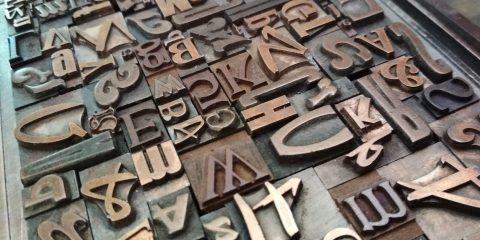Remake Fabriano Tipografia font e calligrafia