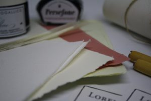 Kit di calligrafia carta mano