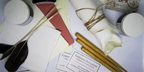 kit artigianale calligrafia regali di natale