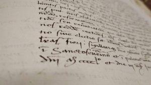 paleografia archivio