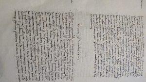 scrittura storica medioevo