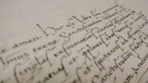 paleografia inchiostro