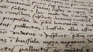 Scrittura storica corsiva