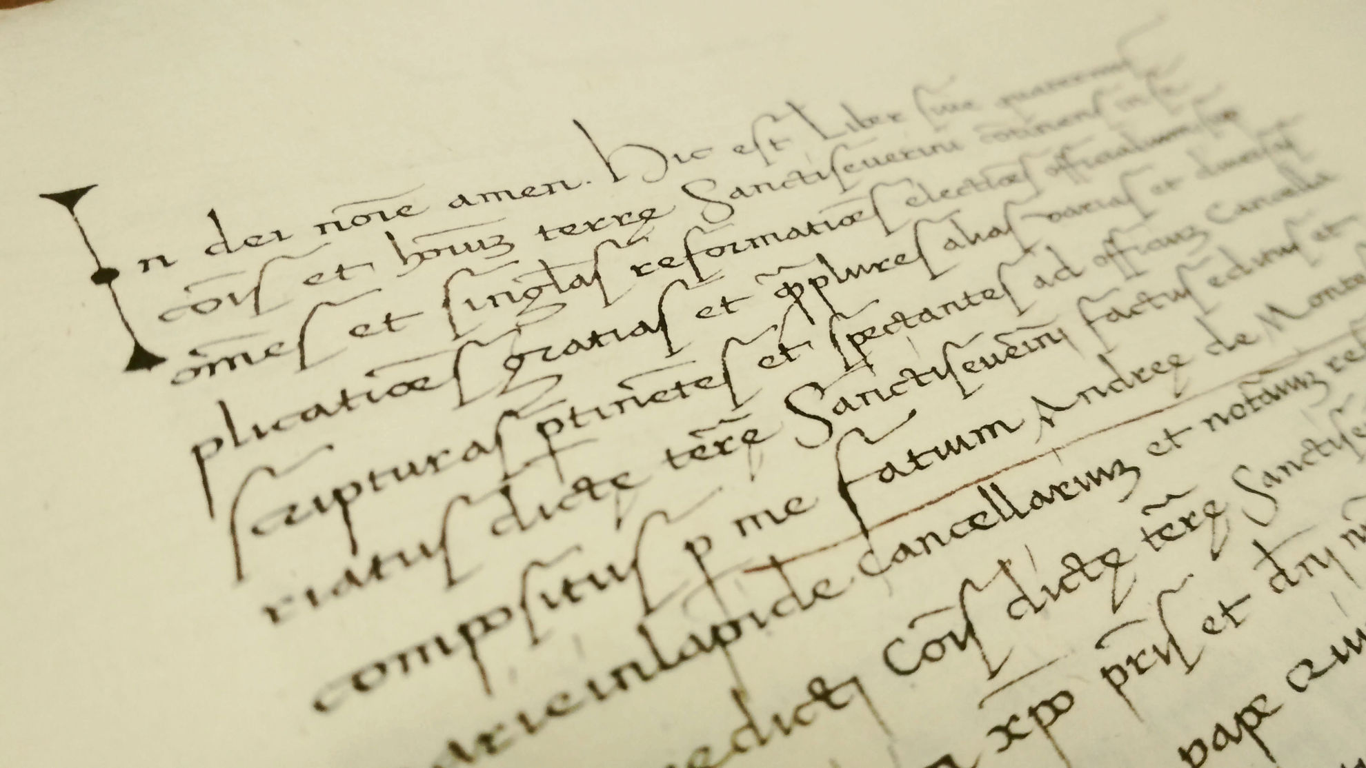 paleografia scrittura storica