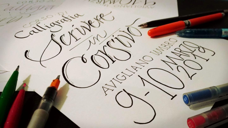 corso calligrafia umbria