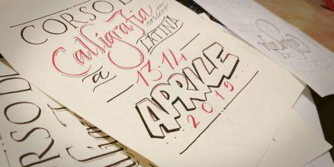Corso di calligrafia a Latina