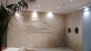 calligrafia murale