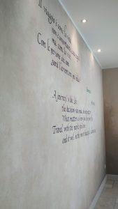 parete calligrafaita
