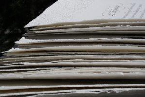 carta a mano