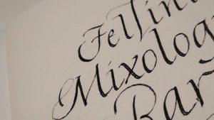 calligrafia fellini