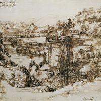 leonardo-paesaggio
