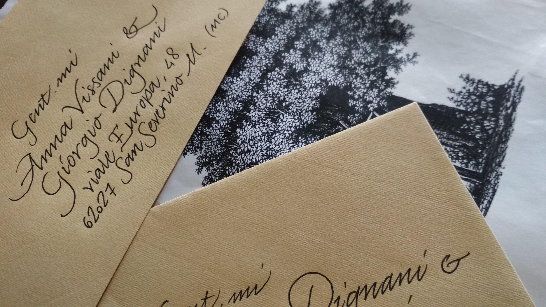 calligrafia professionale indirizzi