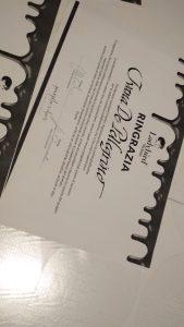 calligrafia certificato