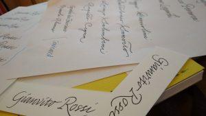 calligrafia eventi