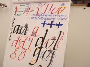 corso calligrafia roma
