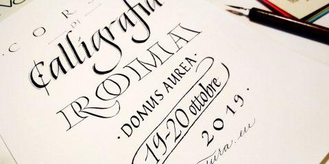 corso calligrafia a roma