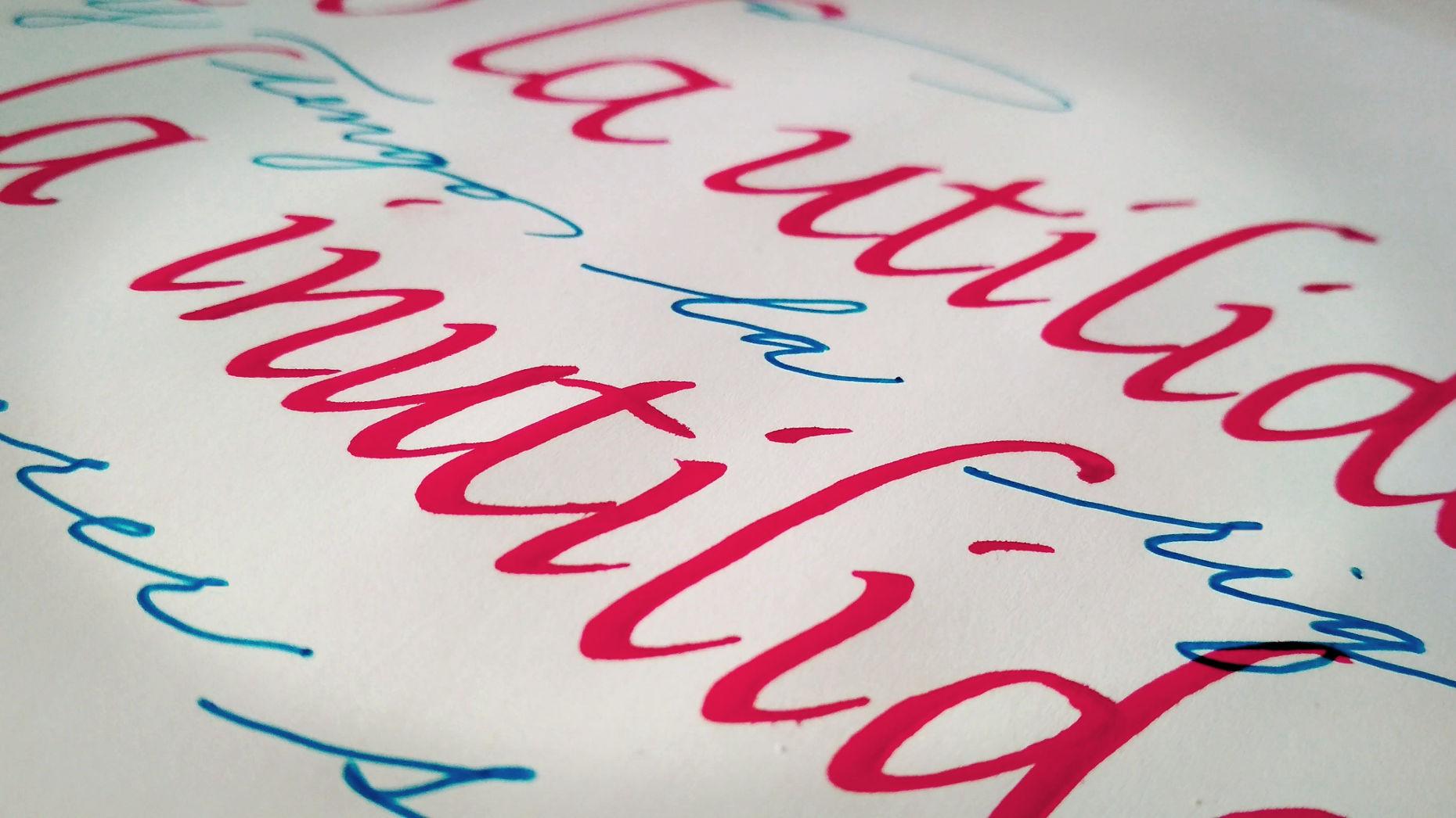calligrafia falconara