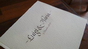 Libro sposi corsivo